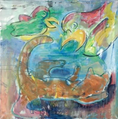 Papegaaien en Kat II