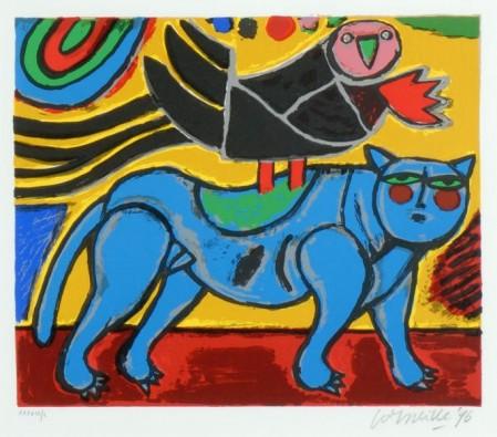 Zwarte Vogel, Blauwe Kat