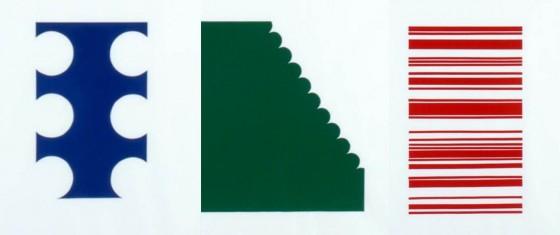 Blauw, Groen, Rood (Drieluik)