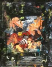 Twee Meisjes Abstract