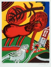 Witte Vogel, Rode Kat