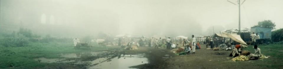 Wochenmarkt in Mandu, India