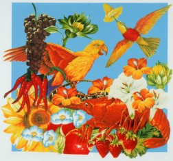Fruit, Flowers and Animals